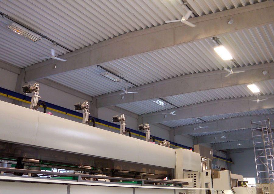 Destratification Fans Destrat Fan Industrial Ceiling