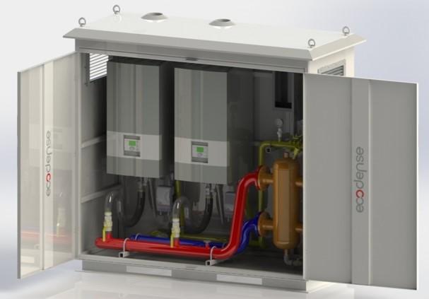 External Gas Boiler Larger Sizes, External floor standing condensing gas boiler,large external gas boiler