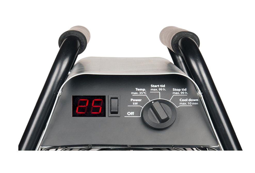 electric unit heater control panel
