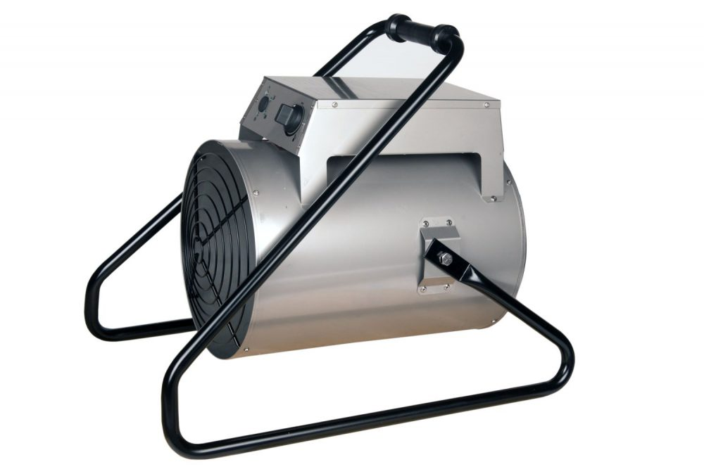 Industrial Electric Heaters in Stainless Steel 9kW Output ,3 Phase Heater, Industrial space heaters,industrial fan heaters