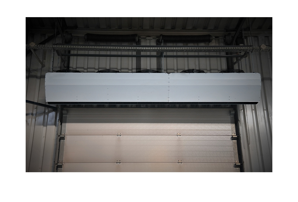 industrial and commercial air curtain, horizontal ambient air curtain,air curtains for overhead doors,air curtain commercial,ambient air curtain,horizontal air curtain
