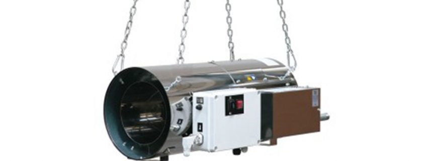 Suspended Direct Fired Natural LPG Gas Warm Air Heaters