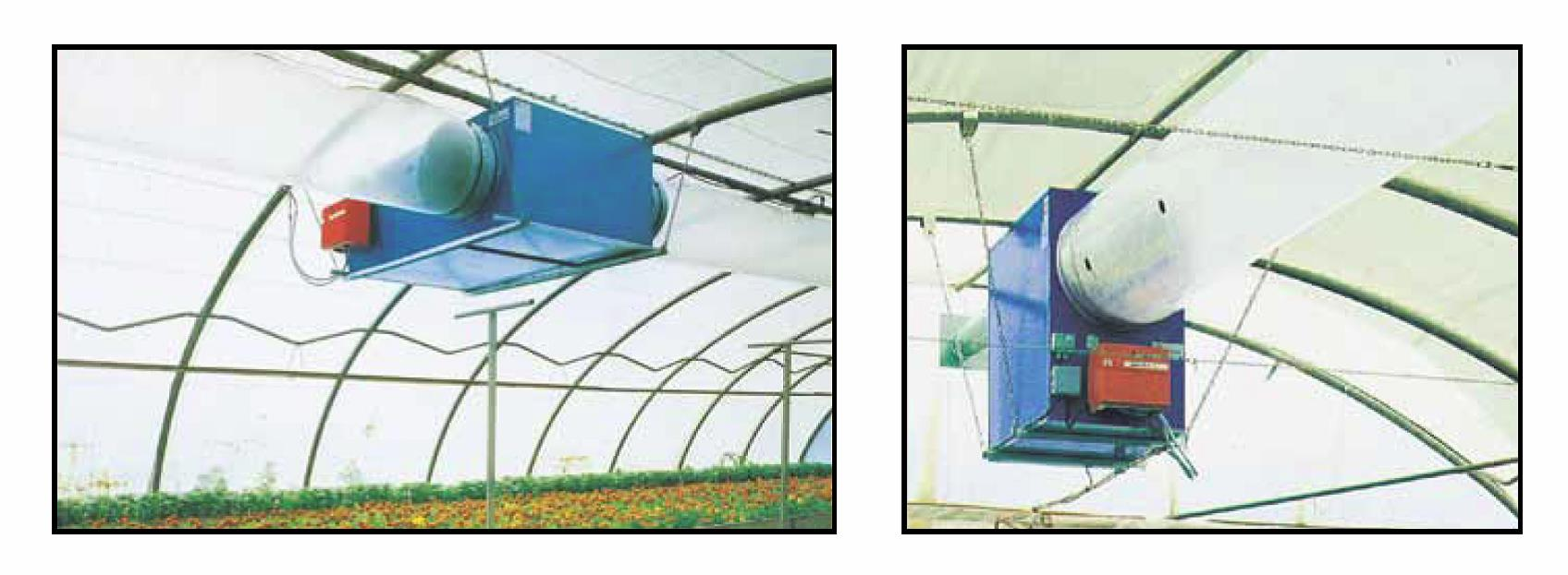 oil unit heaters - greenhouse heaters