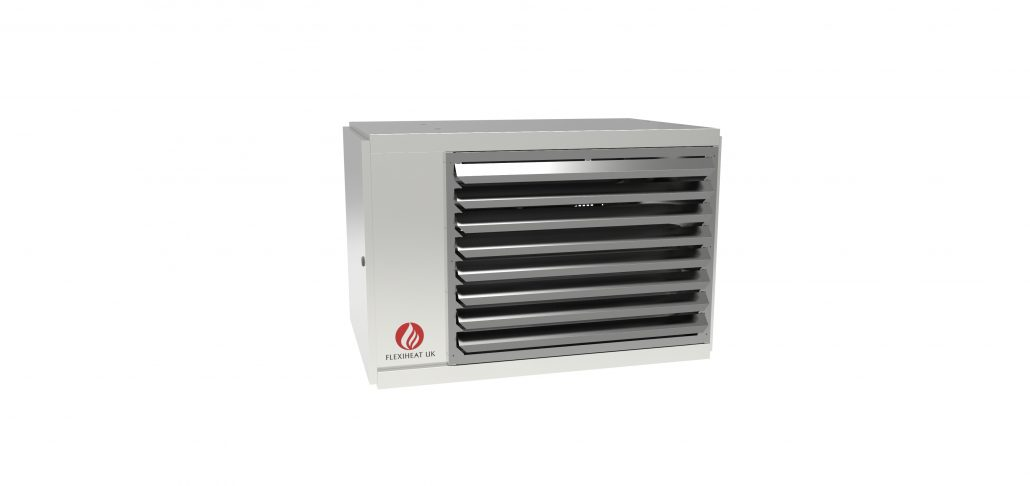 vertical gas fired unit heater, centrifugal fan gas unit heater for ducted heating