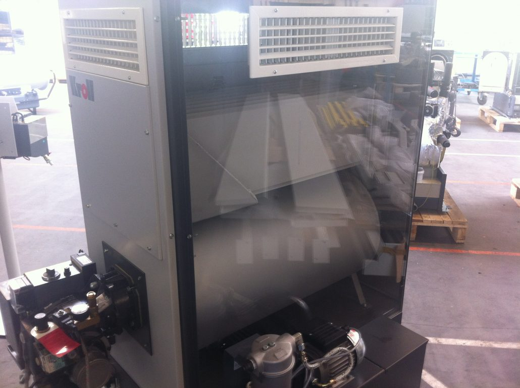 Waste Oil Heater Clear Panel