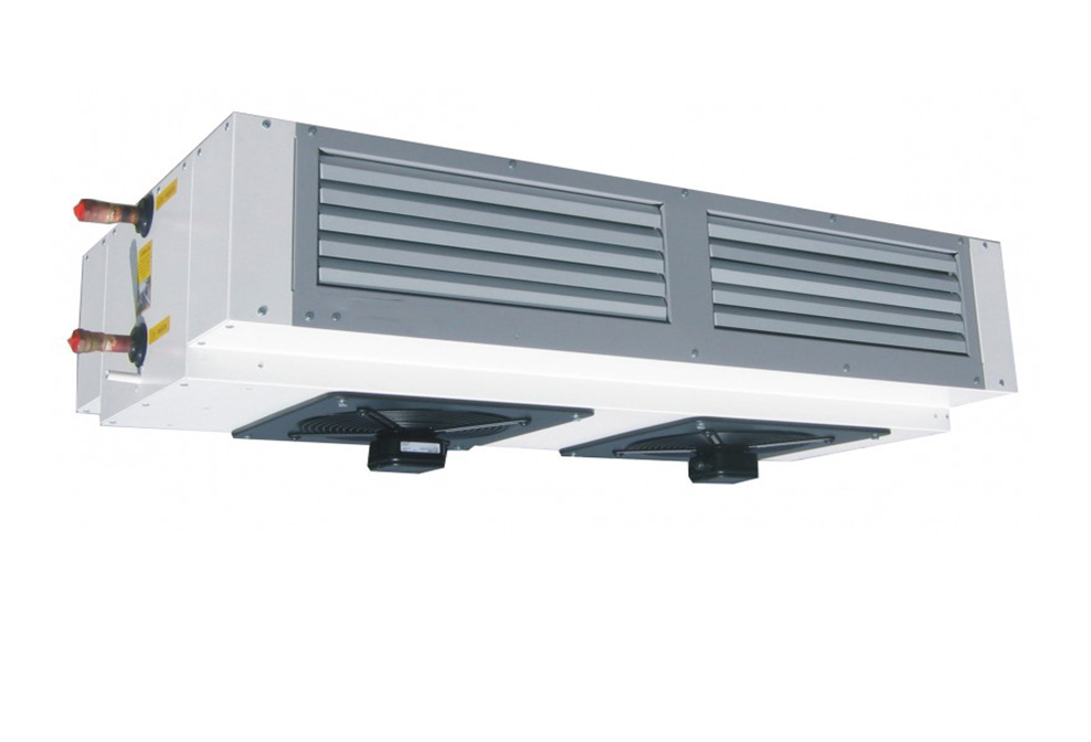 ceiling mounted heating and cooling unit, heating and cooling system,heating and cooling unit