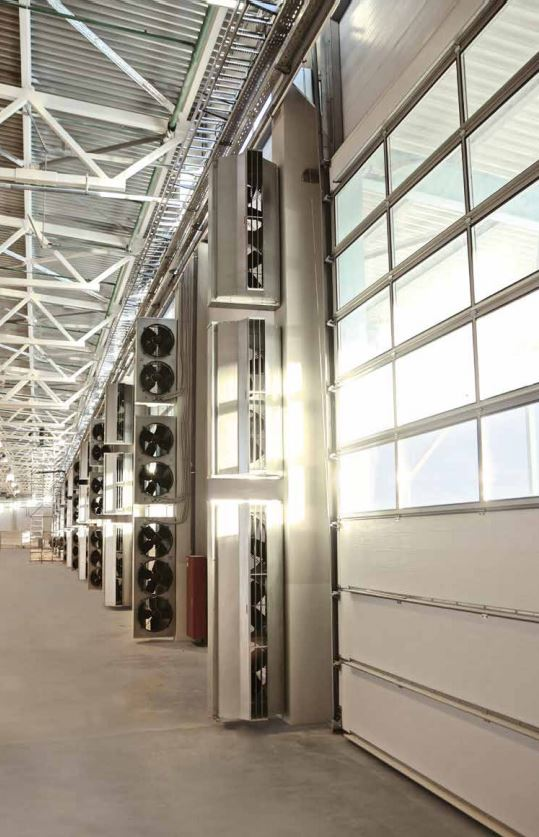 industrial air curtains;vertical air curtains;ambient air curtain;air curtain vertical