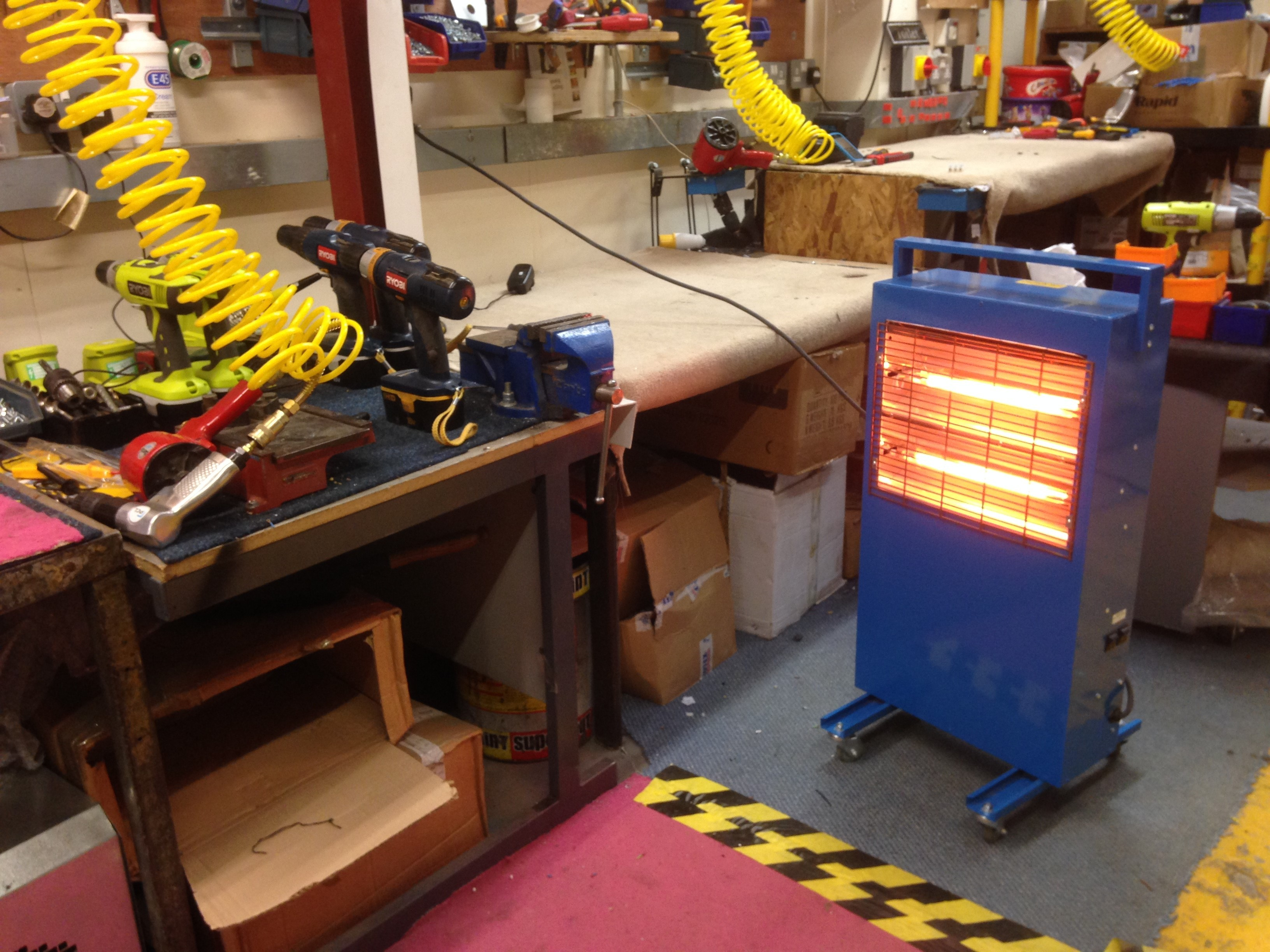 portable infrared heaters UK, portable infrared heaters,mobile infrared heaters