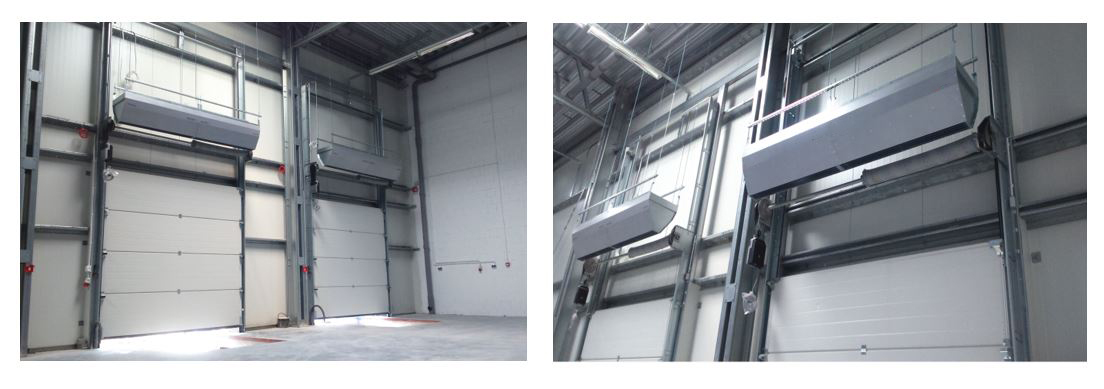 electric over door heaters; commercial over door heaters; air curtain with heater;horizontal warm air curtain