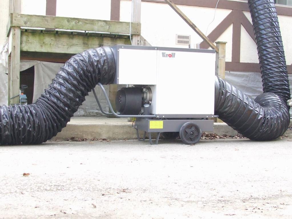 industrial portable heaters; industrial portable diesel heaters; industrial portable gas heaters; portable industrial heaters;