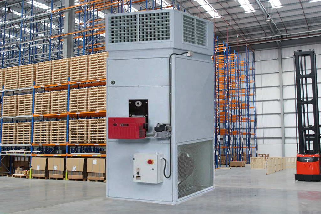 industrial warm air heating; industrial warm air heating systems; industrial gas warm air heaters