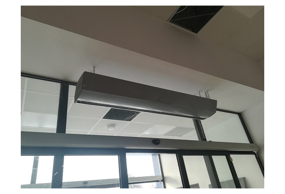 commercial overhead door heaters;commercial over door heaters;