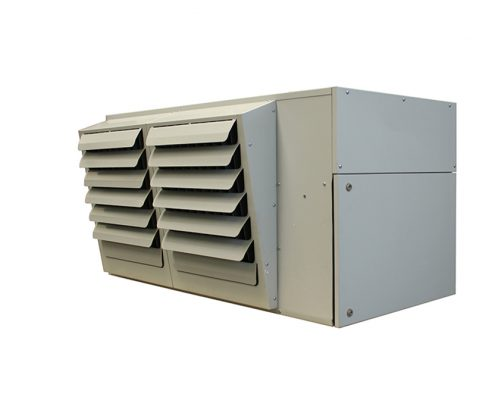 condensing unit heater; condensing warm air heater; reznor condensing unit heater;