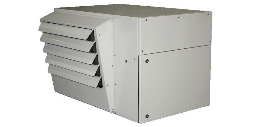 condensing warm air heater; condensing heater; condensing unit heater;