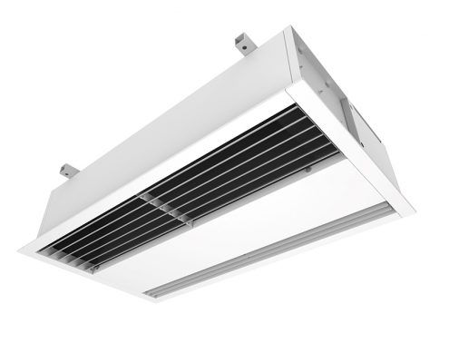 recessed air curtains; recessed air curtain heater; recessed mounted air curtain; recessed warm air curtain; ceiling recessed air curtains; recessed electric air curtain;