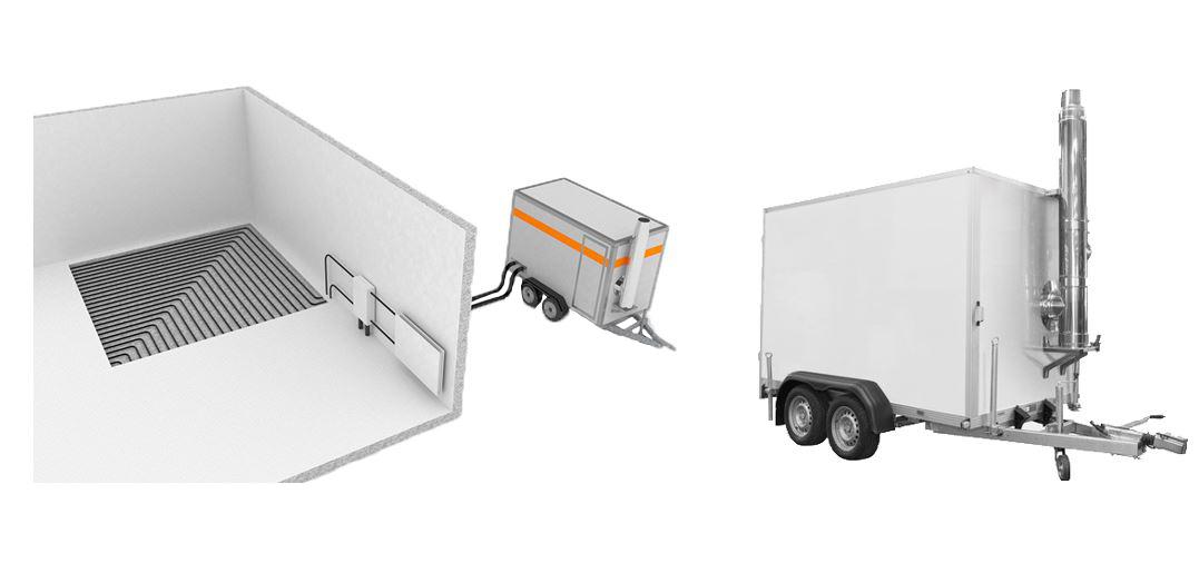 mobile boiler; portable boiler room; mobile boiler room; temporary boiler plant; mobile boilers;
