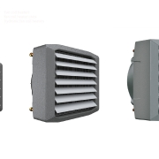 Fan coil heaters; hot water heating fan coil; fan coil heater units; fan assisted air heaters;