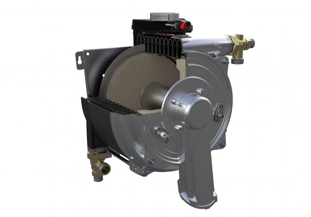External gas boiler heat exchanger; external combi boiler