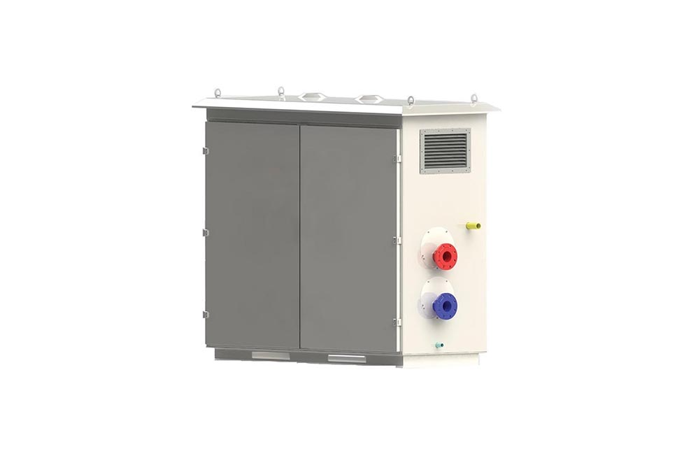 temporary gas boiler; portable gas boiler; portable boiler room; mobile gas boiler;