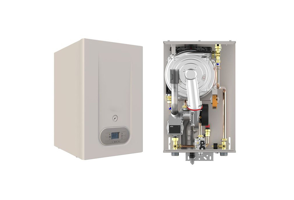 50kW and 60kW gas condensing boiler; lodge; vaillant;vat;collect;vat;job;price