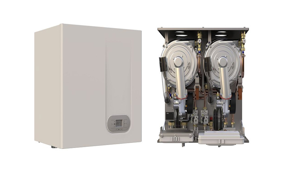 75kW to 120kW output gas condensing boiler from Flexiheat UK; vat; job; price;