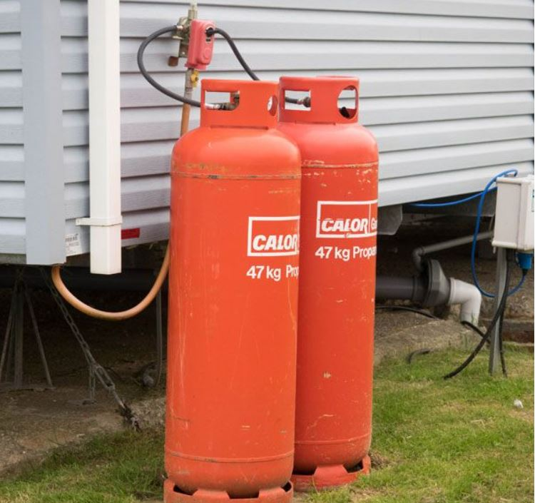 Lpg gas cylinders feeding a caravan; faster checkout; grid sort; basket close; wait; temporarily suspended; customers; stock; boiler; customer creating; stock add; heating; shop;